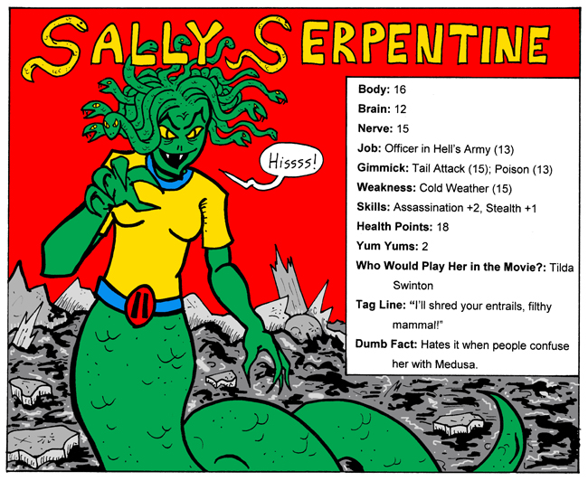Sally Serpentine